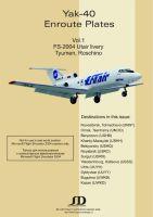 SD - FS9 Enroute plates Yak-40 vol 1