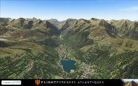 FRANCE VFR - Flight Pyrenees Atlantiques AutogenPack