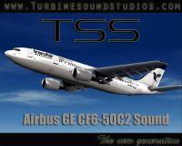 TURBINE SOUND STUDIOS - Airbus A300 CF6-50 Soundpack Pack