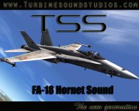 TURBINE SOUND STUDIOS - FA-18 Hornet Soundpack