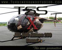 TURBINE SOUND STUDIOS - MD-500 Soundpack X