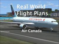REAL WORLD SIMULATIONS - Real World Flight Plans Air Canada