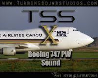 TURBINE SOUND STUDIOS - Boeing 747 PW Soundpack FSX edition