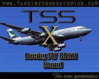 TURBINE SOUND STUDIOS - Boeing 747 RR Soundpack FSX edition