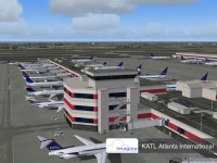 IMAGINE SIM - Atlanta Intl Aiport KATL FSX