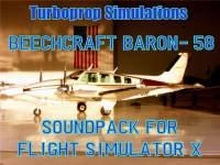 TURBINE SOUND STUDIOS - Beechcraft Baron-58 Sound Pack
