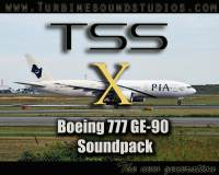 TURBINE SOUND STUDIOS - Boeing 777 GE-90 Soundpack