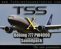 TURBINE SOUND STUDIOS - Boeing 777 PW-4000 Soundpack