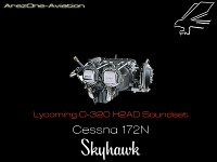 AREZONE - Cessna 172 Lycoming O320 Soundset