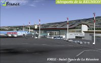 FRANCE TOURISTIQUE SCENERY - Airports of reunion