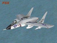 VIRTAVIA - Vought F7U Cutlass