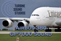 TURBINE SOUND STUDIOS - Airbus 380 GP7000 Soundpack