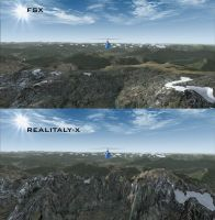 REAL EARTH X - Real Italy X mesh pack 4