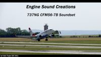 ENGINE SOUND CREATIONS - 737NG CFM56-7B Soundset