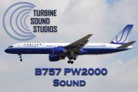 TURBINE SOUND STUDIOS - Boeing 757 PW2000 Soundpack