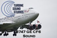 TURBINE SOUND STUDIOS - Boeing 747 GE CF6-80 Soundpack
