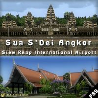 THAI CREATION : Sua S'Dei Angkor, Siem Reap International Airport FS2004.