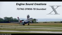 ENGINE SOUND CREATIONS - Boeing 737NG CFM56-7B X Soundset