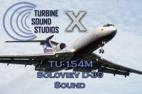 TURBINE SOUND STUDIOS - Tupolev 154M Soloviev D-30 soundpack