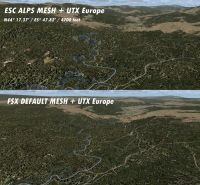 ESC Sceneries- Alps Aster 30m mesh