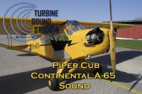 TURBINE SOUND STUDIOS - Piper Cub Continental 65 soundpack