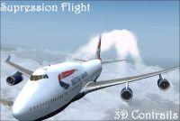 SUPRESSION FLIGHT - 3D Contrail