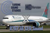TURBINE SOUND STUDIOS - Boeing 767 GE CF6 HD Soundpack
