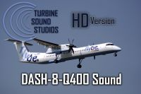 TURBINE SOUND STUDIOS - Dash 8 Q400 HD Soundpack