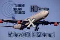 TURBINE SOUND STUDIOS - Airbus A340 CFM Soundpack