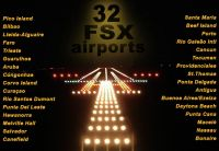 TROPICALSIM - 32 airport Fsx bundle pack