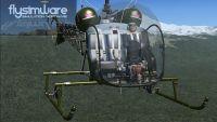 FLYSIMWARE - Bell 47G & Sioux H-13