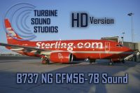 TURBINE SOUND STUDIOS - Boeing 737NG CFM56-7B HD