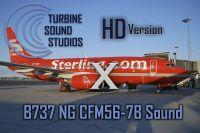 TURBINE SOUND STUDIOS - Boeing 737NG CFM56-7B HD X
