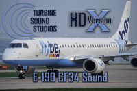 TURBINE SOUND STUDIOS - Embraer 190 CF34 HD Soundpack