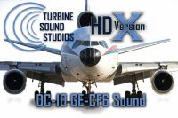 TURBINE SOUND STUDIOS - DC-10 GE-CF6 HD Soundpack
