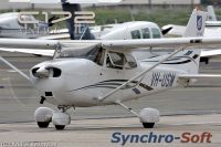 SYNCHRO-SOFT - Cessna 172 V2 Vindage Soundset Continental O-300-A