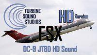 TURBINE SOUND STUDIOS - McDonnell Douglas DC-9 JT8D HD Soundpack