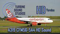 TURBINE SOUND STUDIOS - A319 CFM56-5-B4 HD Sound
