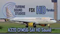 TURBINE SOUND STUDIOS - A320 CFM56-5-A1 HD Sound