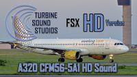 TURBINE SOUND STUDIOS - A321 CFM56-5-B2 HD Sound