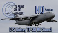 TURBINE SOUND STUDIOS - Lockheed C-5 Galaxy