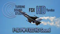 TURBINE SOUND STUDIOS - F-16 F100 Hd Soundpack