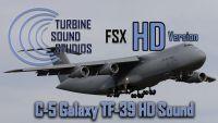 TURBINE SOUND STUDIOS -  Lockheed C-5 Galaxy soundpack