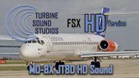 TURBINE SOUND STUDIOS -  McDonnell Douglas MD-80 JT8D Soundpack