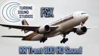 TURBINE SOUND STUDIOS -  Boeing 777 Rolls Royce Trent-800 soundpack
