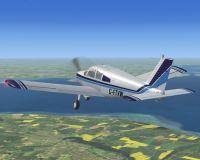 SCANSIM - Piper PA-28 Cherokee