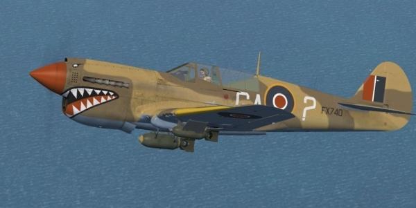 Flight Replicas - Curtiss P-40N Kittyhawk IV Later Versions