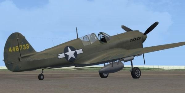 Flight Replicas - Curtiss P-40N KittyHawk IV Single Version