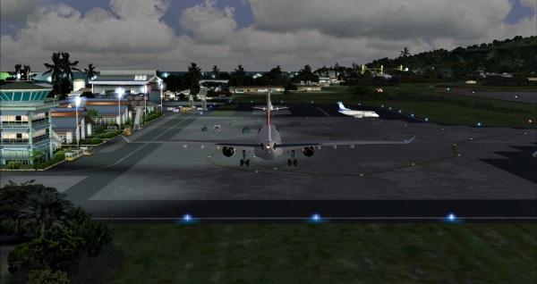 PACIFIC ISLANDS SIMULATION - Rarotonga International Airport