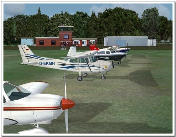 AEROSOFT - VFR AIRFIELDS - Uetersen